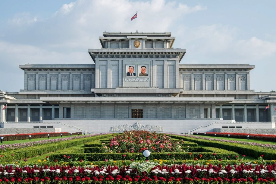 Kumsusan Palace, inside North Korea