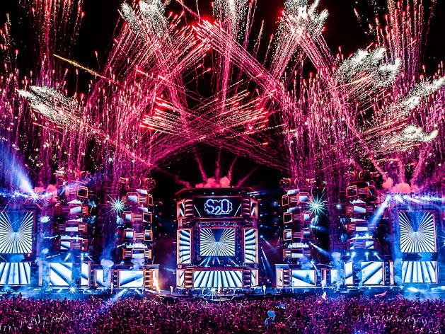 S2O Songkran Festival fireworks