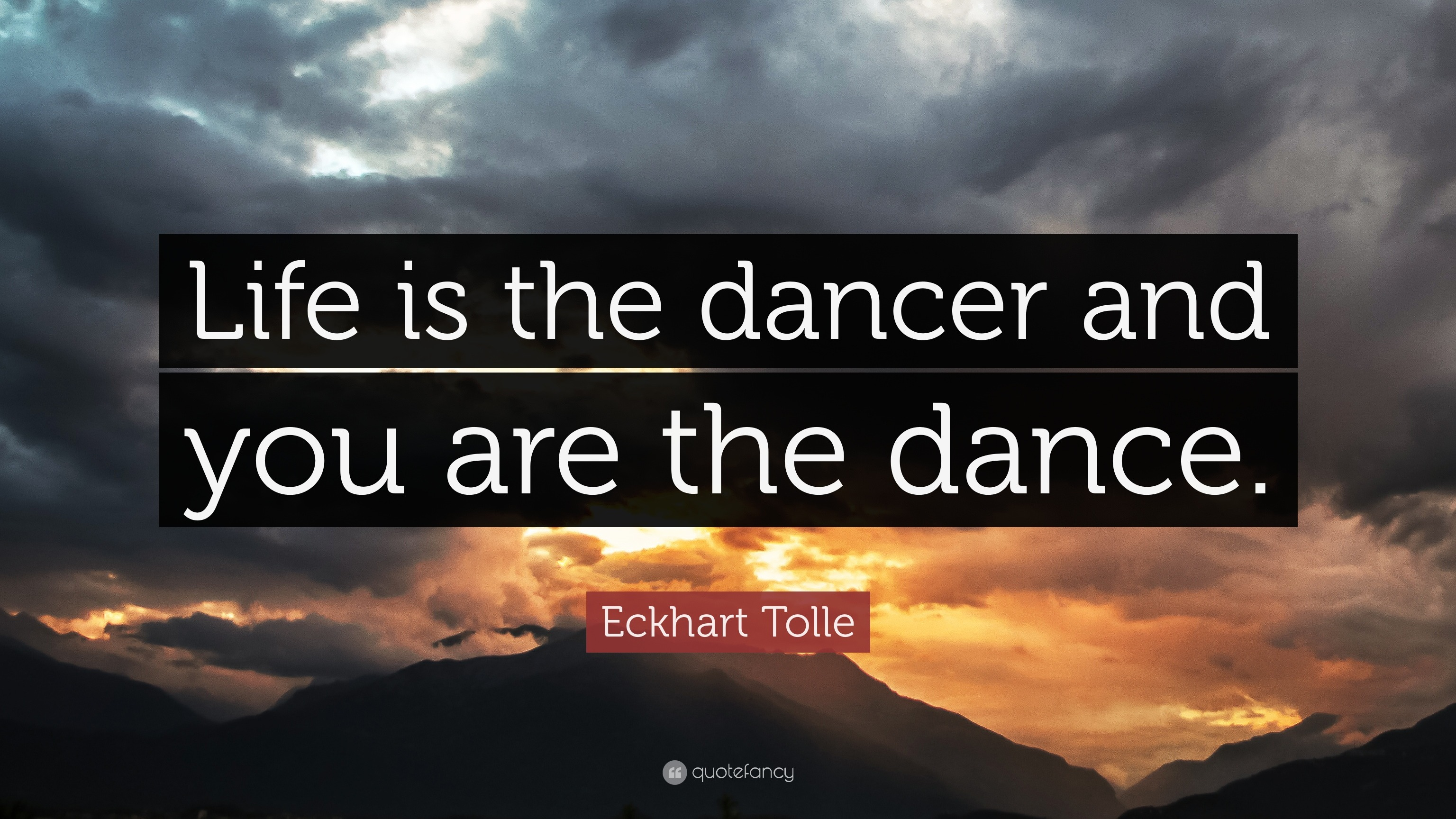 Quote from Eckhart Tolle