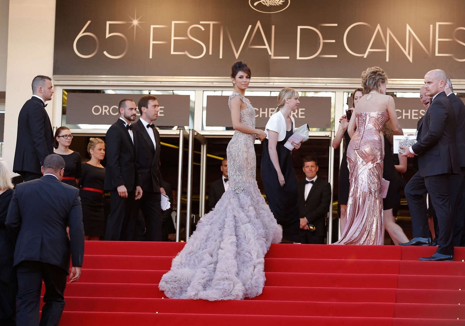 actress on red carpet at Cannes Film Festival