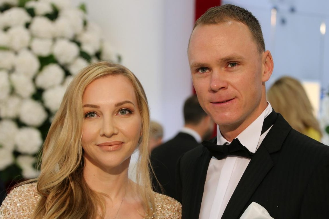 Chris Froome at the Red Cross Ball Monaco
