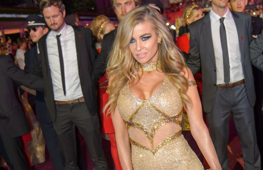 carmen electra at the Life Ball