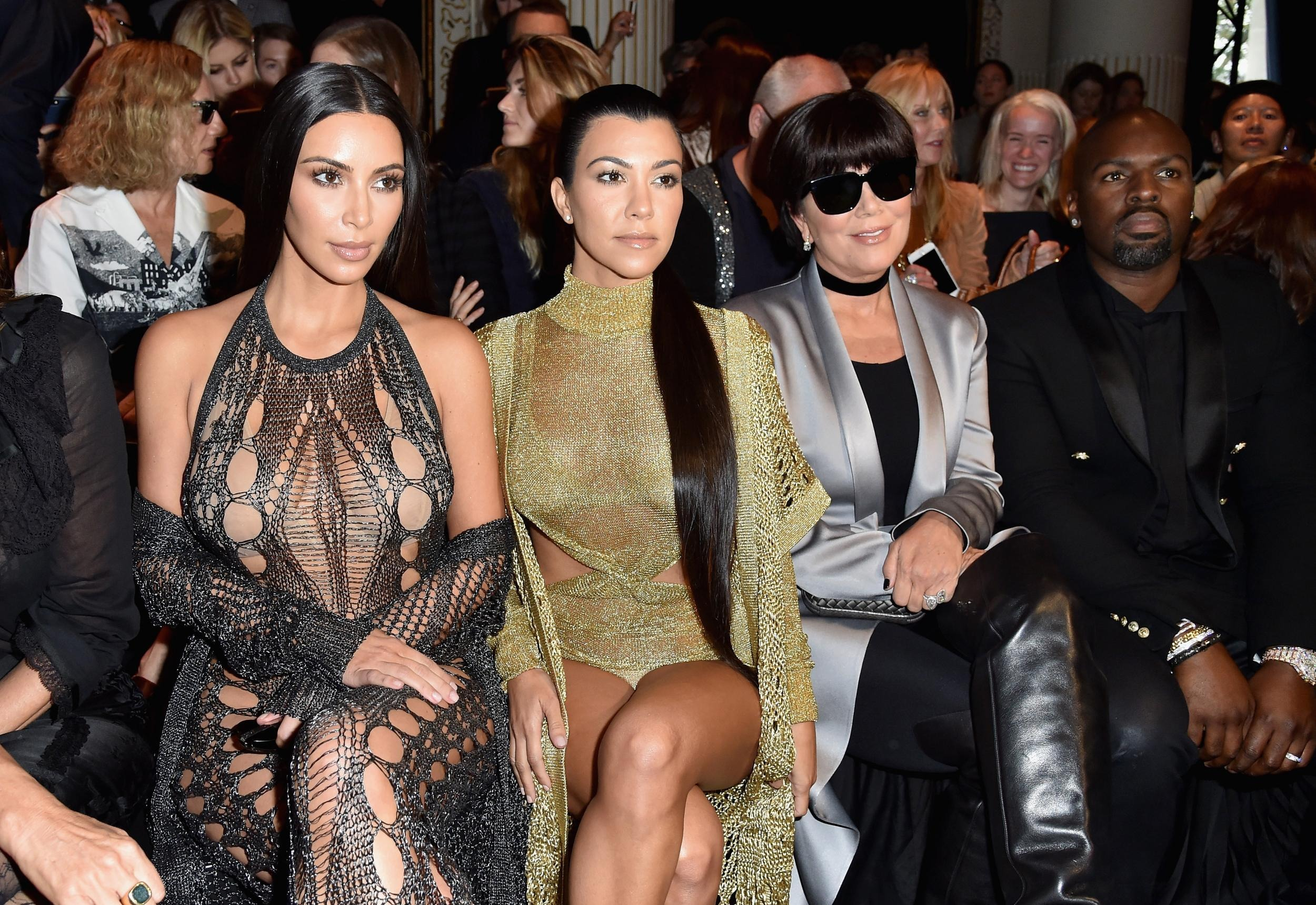 Kardashians at Paris Fashion Week