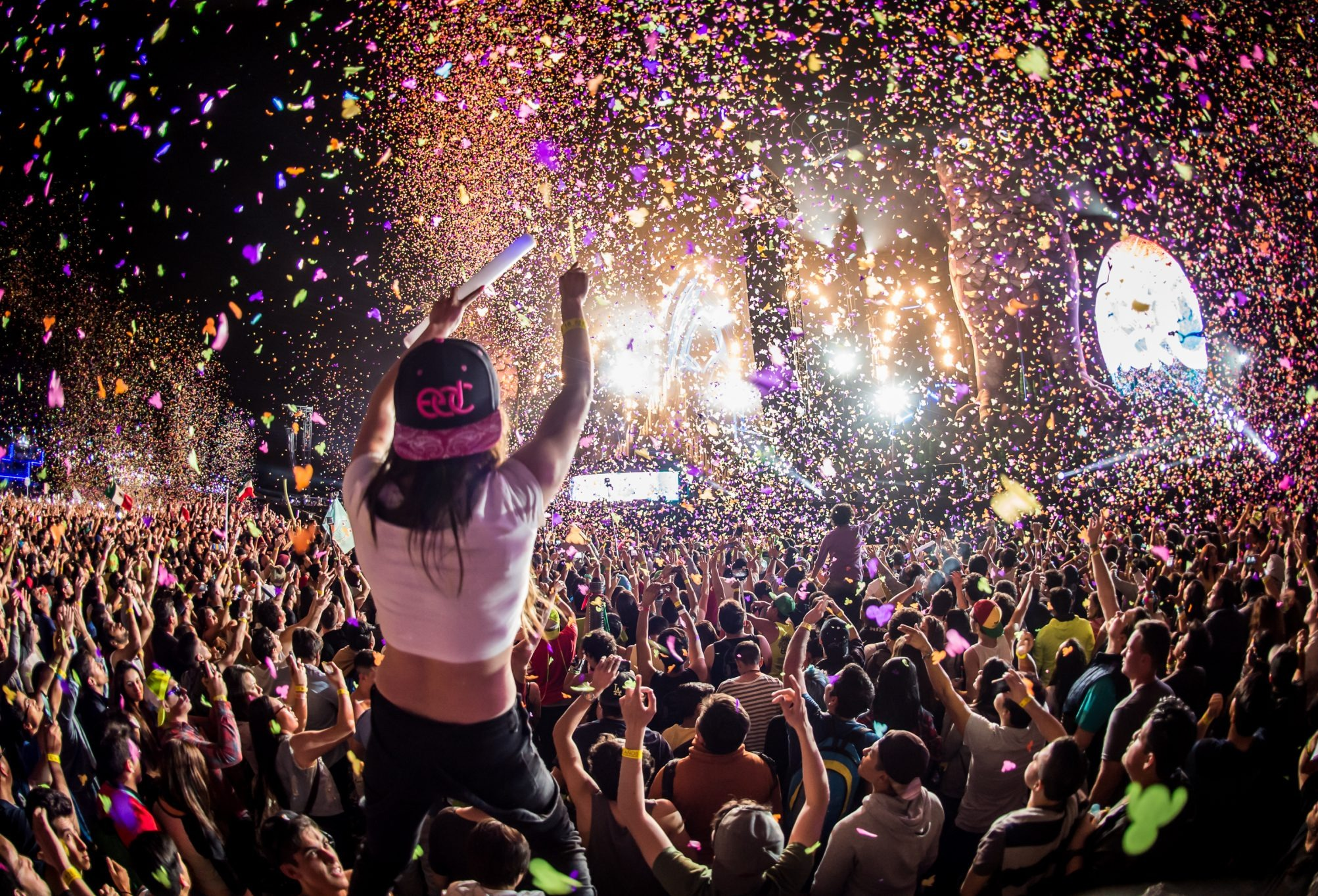 Crowds at Electric Daisy Carnival