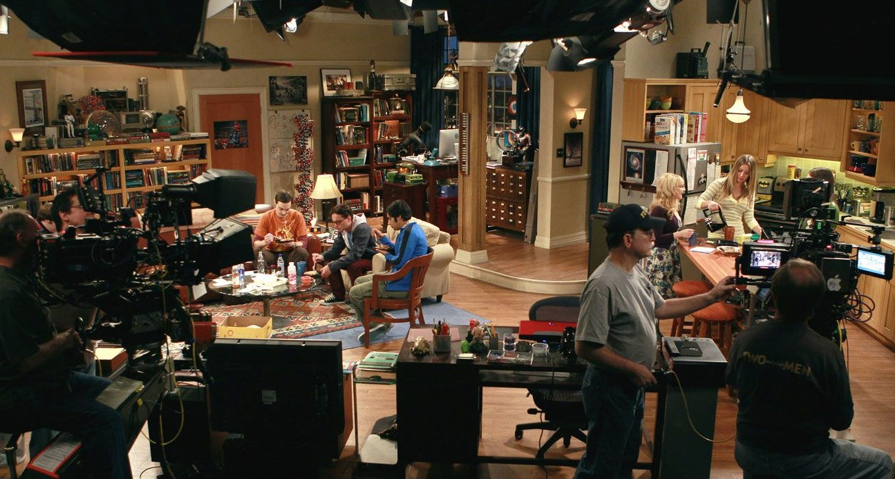 big bang theory set