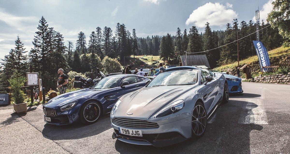 Sports cars at Monaco Grand Prix