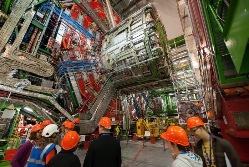 Students Visit CERN