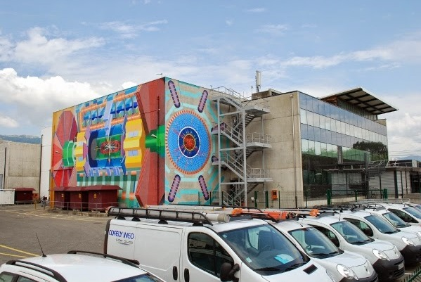 Visit CERN Building