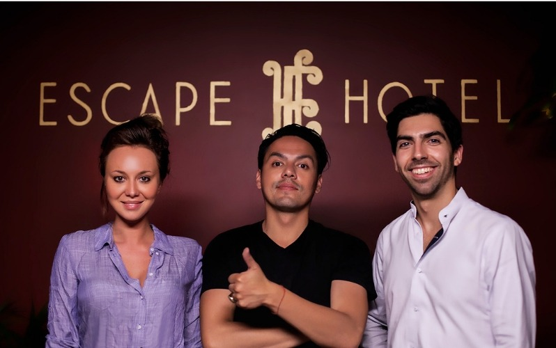 Guests at the Escape Hotel Hollywood