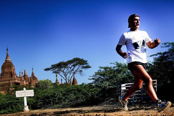Bagan Temple Marathon runner
