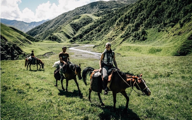 Trek the Caucasus Mountains on Horseback, Tusheti Mountain Trail