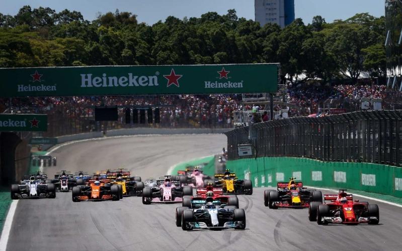 Brazilian Grand Prix VIP view