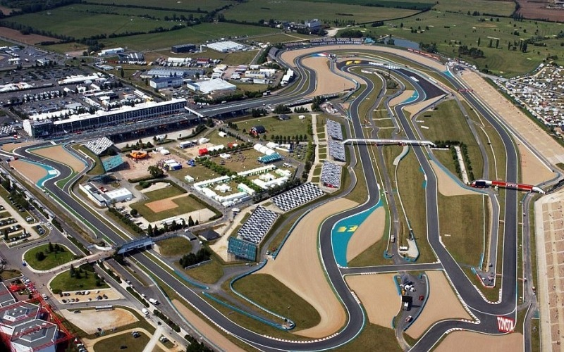 Ariel view of Magny Cours