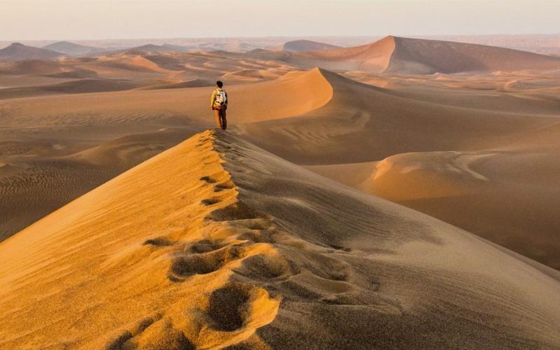 Iranian Desert Trek