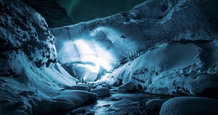 Get Lost ice adventure ice cave