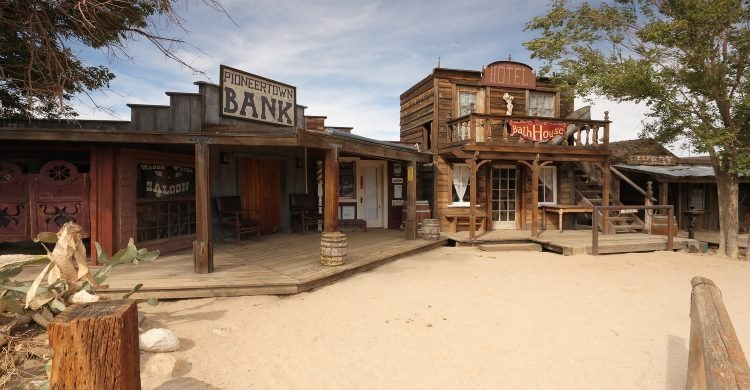 Pioneer town Motel in the Real Wild West