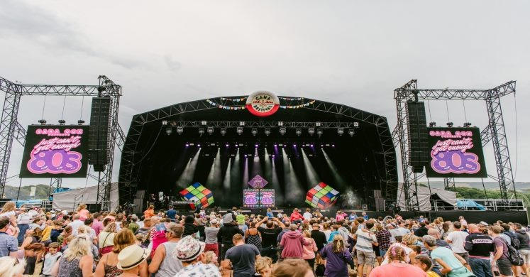 Stage at bestival