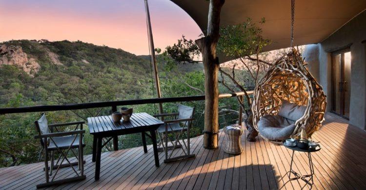 Balcony at Phinda Rock Lodge