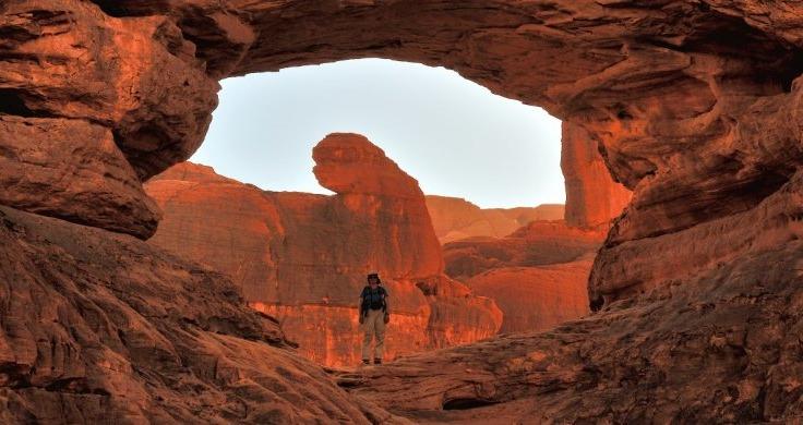 Big desert rock