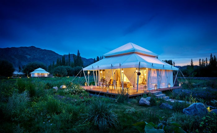 The Ultimate Travelling Camp tents