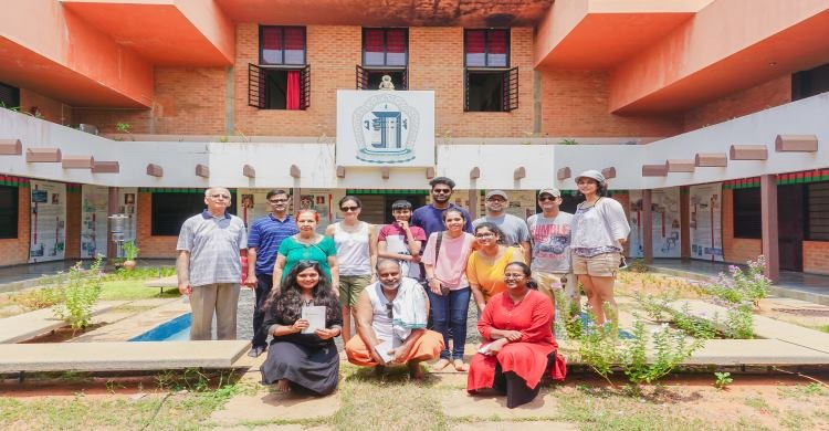 People at auroville