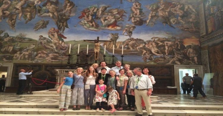 Private group tour inside the vatican after hours