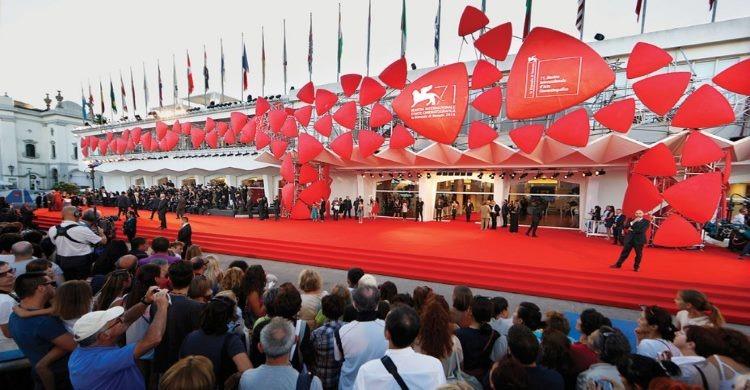 Entrance to Venice Film Festival