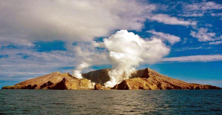 The White Island Volcano