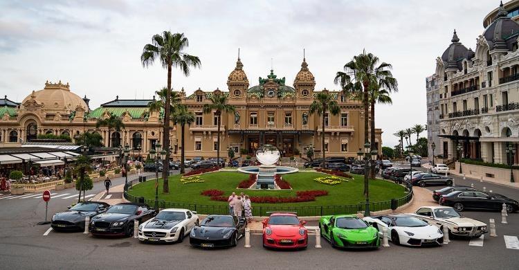 Super cars lined up for Monaco Grand Prix