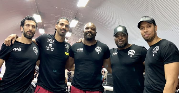 David Haye entourage and team