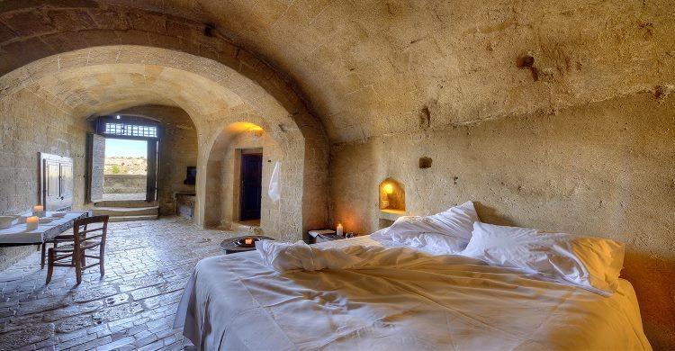Cave suite at Le Grotte della Civita