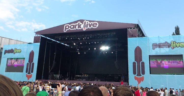 Park Live stage