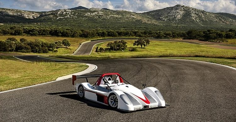 Radical SR3 on Ascari race course