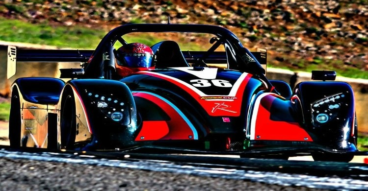 Actual track car Radical SR3 at America's Ultimate Race Car Driving experience