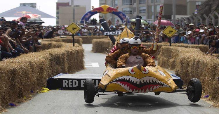 Team racing at Red Bull Soap Box