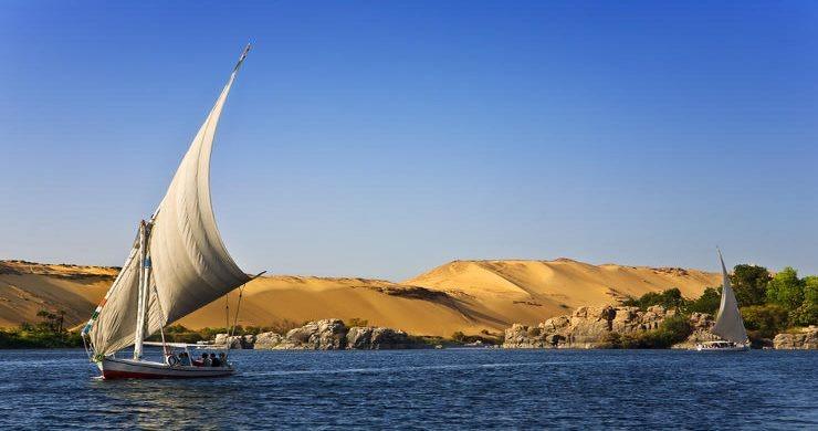 Felucca nile Egypt aswan