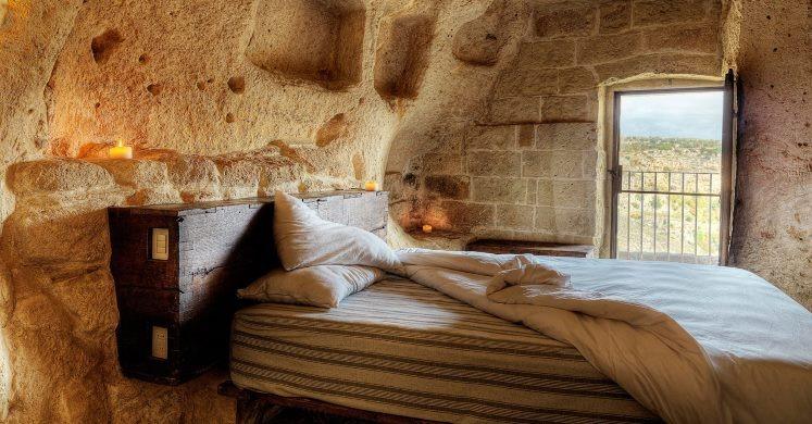 Cave room at Le Grotte della Civita