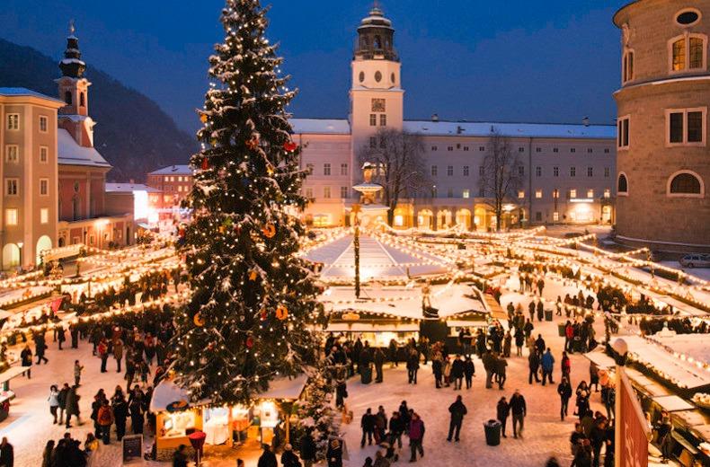 Austria Market Xmas Festive time