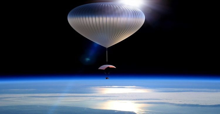 Out of space balloon experience