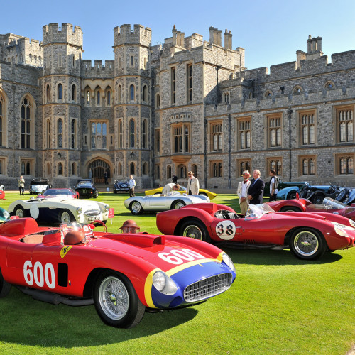 Classic cars at Concours of Elegance