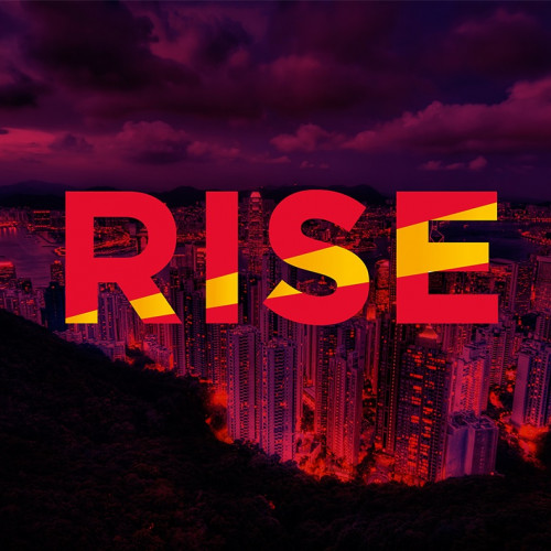 RISE festival logo - Life of riley
