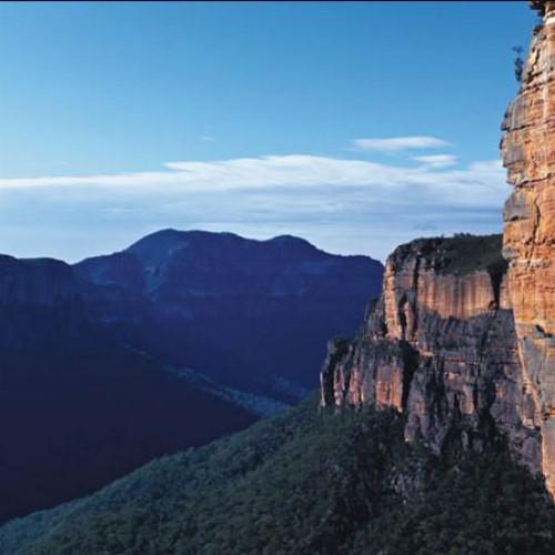 Mountain views at Echoes - Katoomba Blue Mountains Adventure