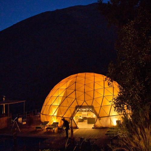 Camping dome at Elqui Domos
