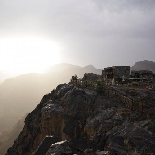 Jabal Akhdar Luxury Mountain Hotel in the mountains