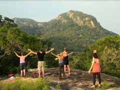 People Meditating on a Luxury Sri Lanka Retreat