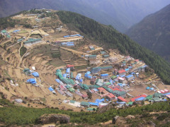 Namche Bazaar Everest Base Camp Trek Nepal