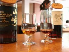 japan yamazaki whisky on countertop Spirit of Japan Tour