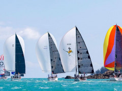 Yachts Taking Part in Hamilton Island Race Week