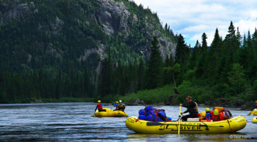 Rafting Magpie River