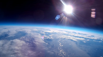 High Altitude Balloon Ride